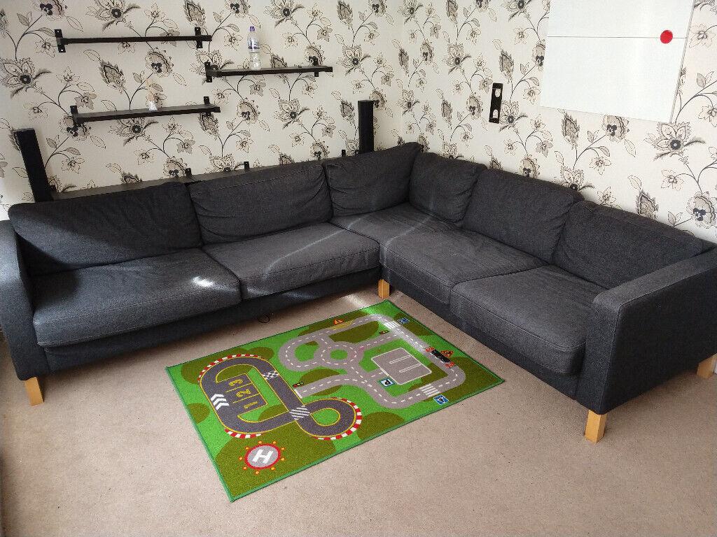 Online 0e8cf A88e5 Corner Sofa Ikea Grey Perfectly You