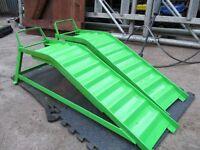metal car ramps heavy duty