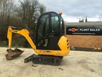 2015 JCB 8014 CTS Only 300hrs
