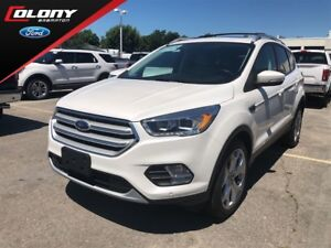 2018 Ford Escape Titanium | FORD DEMO | AWD | Leather | Navi