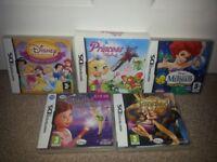 JOBLOT: DS Princess Games