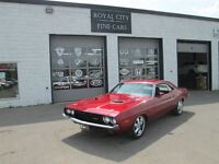 1973 Dodge Challenger GT , fully restored 340 Inferno red , car