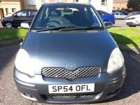 ★ ONLY 74,000 MILES★ 2004 Toyota Yaris Blue Hatch 1.3, Very long MOT, eg clio fiesta corsa polo golf