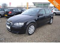 2007 Audi A3 1.6 Sportback 5dr / Finance Available / Year MOT !