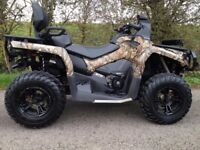 CAN-AM OUTLANDER L MAX MOSSY OAK LIMITED EDITION ROAD 570 QUAD ATV 4X4 FARM QUAD