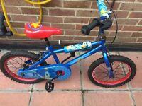 Sonic the hedgehog bike