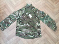 Newest model Full Camo Army MTP UBACs Shirt (Under Body Armour Combat Shirt) Size – Large 180/100