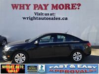 2012 Chevrolet Cruze LT| CRUISE CONTROL| A/C| POWER LOCKS/WINDOW