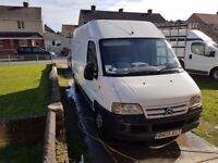 I have for sale a citroen relay. 12 months mot.new clucth fitted in march.