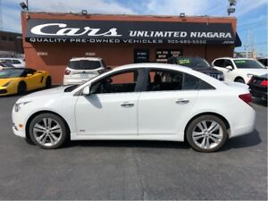 2011 Chevrolet Cruze LTZ Turbo | 1.4 L | 1 OWNER | NO ACCIDENTS