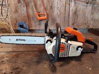 Stihl MS 200 Back handled saw