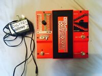 DT Pedal New Generation model of the classic Digitech Whammy Pedal. (includes adapter)