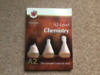 AQA A2 level chemistry revision book