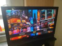 "Panasonic 37"" Smart Plasma TV FreeView Built In 2 HDMI HD Ready 720p Res Movies TV Shows (IPTV)"