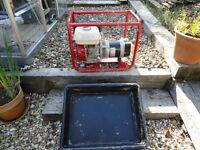 honda gx 200 generator 110 v