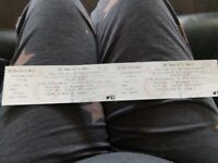 Bought these tickets for Cardiff in November but can't go now only want 40 for the pair