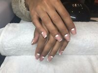 Acrylic & Gel Nail Extensions. Book online now and get 10% off!