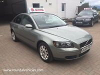 12 MONTHS WARRANTY, 2005 55 Plate Volvo S40 1.6 S saloon 11 months mot, LOVELY LOOKING CAR FOR MONEY