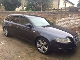 Top spec S-line in Grey with black half leather interior and rare black roof lining pack.