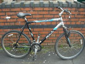 "Large Mountain Bike 22"" Frame had recent service, nice ride"