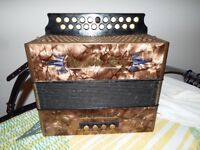 hohner double ray accordion quick sale!