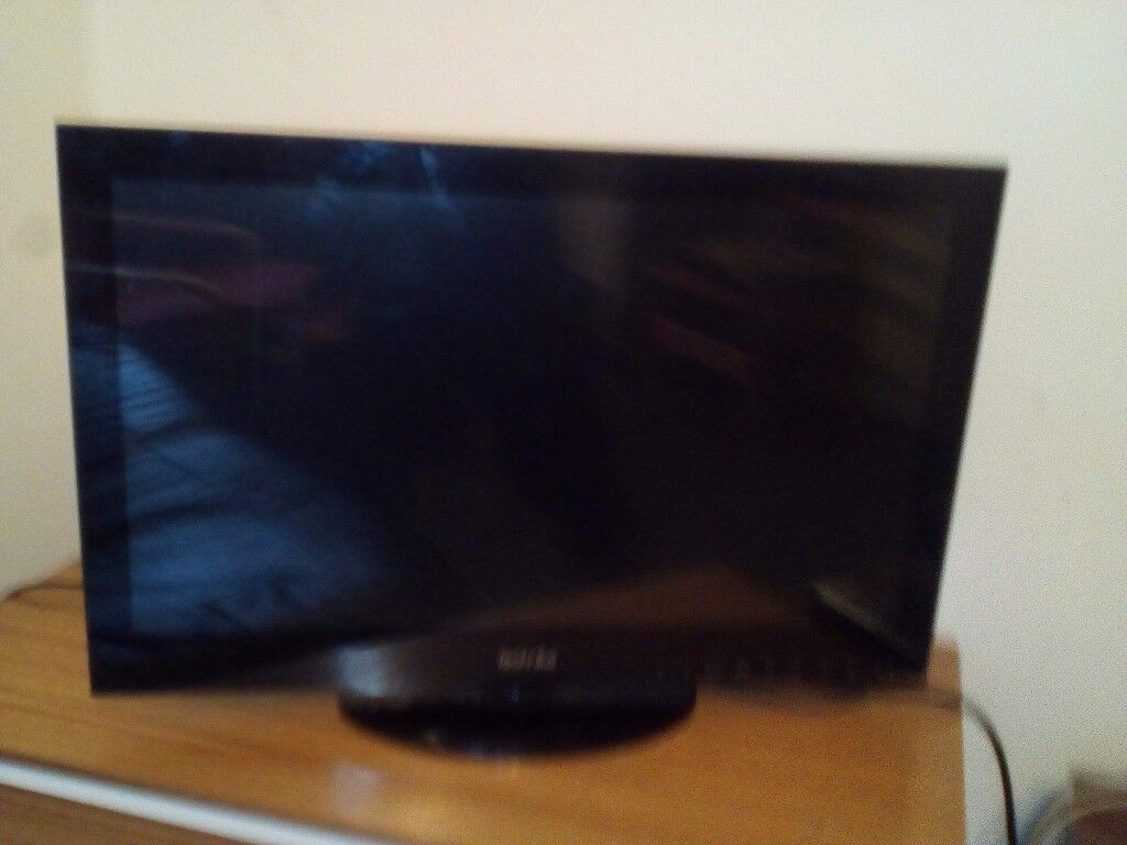 24 inch Techika tv with dvd player