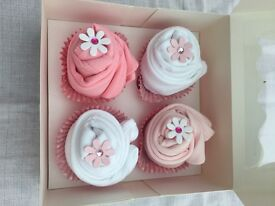 Baby Sleeveless body suits cup cake box