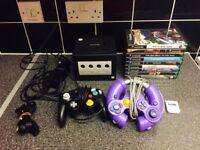 Nintendo GameCube & 9 games