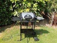 George Foreman Electric Barbecue and Stand