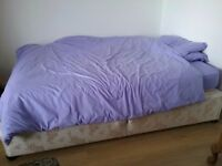 Double bed with mattress £10