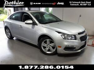 2015 Chevrolet Cruze Diesel | LEATHER | SUNROOF | HEATED SEATS |