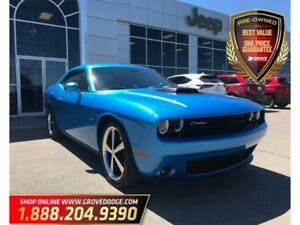2016 Dodge Challenger R/T Shaker| Manual| Leather| Low KM| Sunro