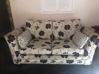 two, two seater sofas £100!