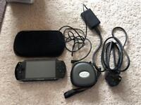 PSP and 16 UMD games/videos