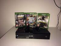 Microsoft Xbox One 500GB + Controller + 9 Games