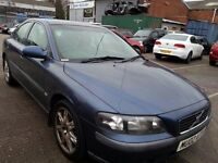 VOLVO S60 2.0 T S 2002 REG LEATHER ALLOYS SERVICE HISTORY