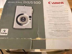 Canon Digital IXUS 500 Camera