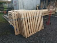 Fencing panels for sale job lot of 8 panels only £90