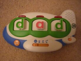 Leap Frog alphabet aeroplane Musical toy