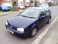 VW Golf 4 1.6L Petrol 150bph year 1999
