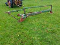 Tractor three point linkage post stob chapper hammer