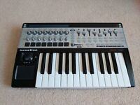 Novation 25 SL MK2 USB midi keyboard