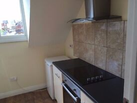 1 bedroom & . Studio bedsits Available. Nr town & train station. No fees all new condition.
