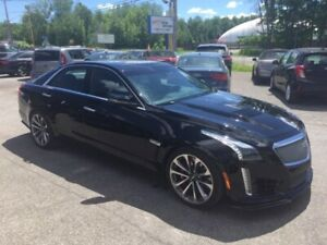 2016 Cadillac Berline CTS-V V8 6.2L Navigation Cuir GToit Ouvran