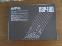 Yamaha Digital Sound Field Processer DSP 100 complete with manual