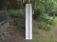 FULLY GALVANISED 6FT-4IN CAR TRAILER RAMP ONE ONLY HEAVY DUTY...