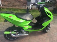 Yamaha aerox 70, beloved...