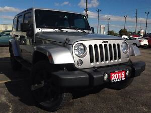2015 Jeep WRANGLER UNLIMITED Sahara, Navi, 2 Tops, 4x4, Save $$$