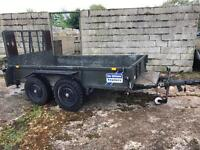 Ifor Williams Heavy Duty twin axle full ramp