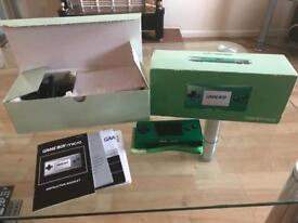 Gameboy Micro (Green) BOXED - GREAT CONDITION